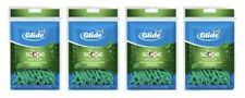 (4x) ORAL-B Glide Complete Floss Picks with Scope Outlast 75/ea (300 Total)