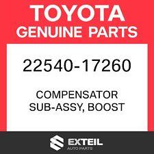 22540-17260 Toyota OEM Genuine - COMPENSATOR SUB-ASSY, BOOST 2254017260