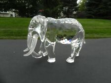 Swarovski crystal large elephant retired Inspiration Africa 1993 limited edition
