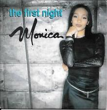 CD SINGLE 2 TITRES--MONICA--THE FIRST NIGHT--1999