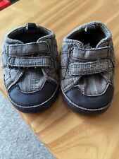MAMAS AND PAPAS-BOYS-SHOES-AGE 6-12 MONTHS-BROWN