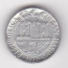 San Marino 1 Lire Coin 1977 MUST L@@K !!