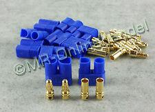 5 Paar (10 Stück) EC3 Goldstecker 3,5mm Gold Stecker + Buchse 60A