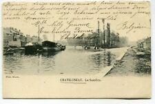 CPA - Carte Postale - Belgique - Châtelineau - La Sambre - 1906 (SVM13871)