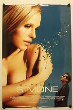 SIMONE (S1m0ne) - Al Pacino - Original Movie Poster - 2002 Rolled DS C9