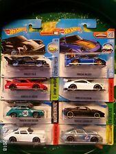 8 x PORSCHE 934.5 993 GT2 911 GT3 RS 356a OUTLAW CARRERA GT 934 TURBO Hot Wheels