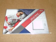 2018 Topps MATERIAL DAVID PRICE GAME JERSEY RED SOX E1345