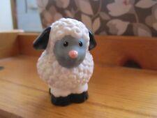 Fisher Price Little People Sheep Farm Nativity Barn Black Ear pink nose Animal