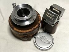 RARE Leica Hektor 2.8cm f6.3 w/Finder Screwmount Leitz Vintage Elmar M LTM 28mm