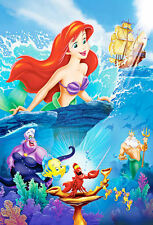 "The Little Mermaid (11"" x 17"") Movie Collector's Poster Print (T3) - B2G1F"
