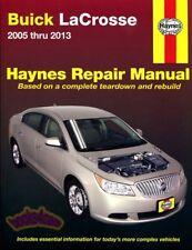 SHOP MANUAL LACROSSE SERVICE REPAIR BUICK BOOK HAYNES CHILTON LA CROSSE