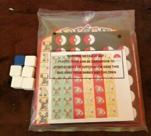 POKEMON ON A ROLL GAME 2009 PRESSMAN SEALED PARTS SPARES NOT COMPLETE