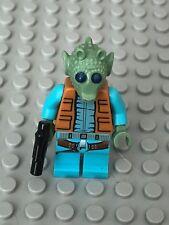 Star Wars LEGO MINIFIG Minifigure sw553 GREEDO 75052 MOS EISLEY!