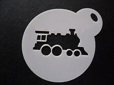 Découpe Laser petit train Design Gâteau, Cookie, craft & Face Painting Stencil