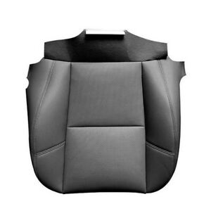 Driver Lower Seat Cover Black Leather Replacement For Cadillac Escalade 2007-14