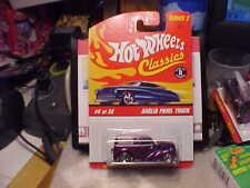 Hot Wheels Classics Series 2 Anglia Panel Truck Purple