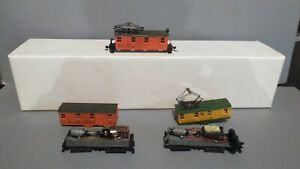 2 MDC Roundhouse IR Boxcab Electric Trolley Can Motor Both Run For Parts Or...