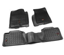 Omix All Terrain Floor Liner Kit, Black; 99-06 Chevrolet/SUV # 82989.02