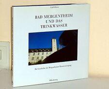 Bad Mergentheim and drinking water.