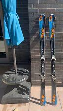Mens Black Vokl Rtm Carving Skis (used) 173cm
