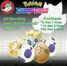 [Mystery Egg Bundle] Isle of Armor Shiny✨ 6IV Mystery EGGS Pokemon Sword&Shield