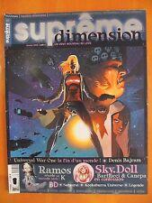 Suprême dimension N° 1 du 02/2006- Ramos-Sky Doll-Samurai-Kookaburra Universe