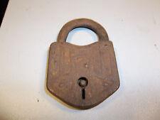 Vintage Primitive Padlock - R010