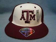 Adidas Texas A&M Aggies on field BRAND NEW Fitted hat cap climalite Football