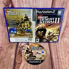 PS2 GIOCO Conflict Desert Storm II COMPLETO PAL PLAYSTATION 2 GUERRA SPARATUTTO 16+ PAL