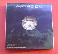 Japan 2005 Chubu International Airport 500 Yen Silver Proof Coin