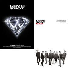 EXO [LOVE SHOT] 5th Repackage Album RANDOM CD+Photo Book+Photo Card K-POP SEALED