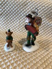 *Christmas* Department 56 One-Man Band and The Dancing Dog