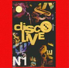 "COMPILATION "" DISCO LIVE N° 1 "" MUSICASSETTA SIGILLATA  (MC K7)"
