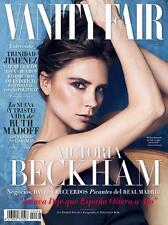 Vanity Fair Magazine Espana Spanish Spain,Victoria Beckham NEW