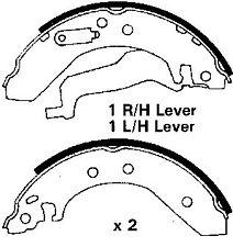 Rover 25, 45 00-07, 200, 400 89-00, MG-ZR 01-07, nuevos Zapatos de Freno Trasero