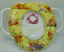 Baby Soft Padded Potty Training Toilet Seat With Handles Winnie The Pooh .