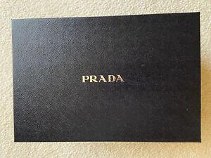 """Authentic Prada Box - Black - 12""""L x 8"""" W x 6"""" D"""