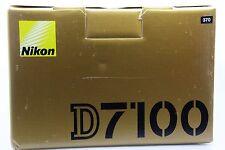 Fotocamera Reflex Digitale Nikon D7100 24.1MP - Nero (Solo Corpo) 370