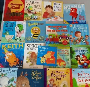 x17 childrens TODDLER book bundle, ages 3 4 5 PRE SCHOOL l, dragon, KEITH FISH