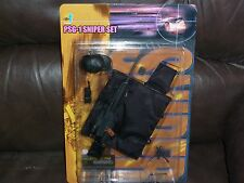 PSG-1 SNIPER RIFLE DRAGON ACTION FIGURES 1/6 th SCALE FOR GI JOES AND 12 INCH