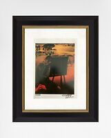 Salvador Dali 1974 Original Print Hand Signed & Certificate, Resale $5,700