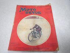 MOTO REVUE N° 605 13 OCTOBRE 1934 NARCY 500 PEUGEOT CONTRE LE RECORD DU MONDE *