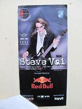 Steve Vai Rare Concert Rare Ticket 2005 Sofia Bulgaria