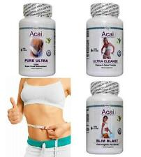 Acai Pure Cleanse T5 Fat Burner Weight Loss Diet Pills Slimming Detox Tablets
