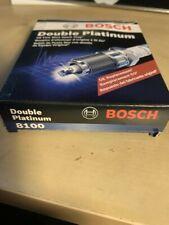 4 x OEM Bosch 8100 Spark Plug Fine Wire Double Platinum fits Acura BMW Dodge