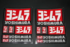 Yoshimura Aufkleber Sticker Decal Auspuff Race Moto Decal Bapperl Kleber Logo 7Z
