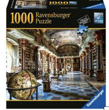 New Ravensburger BAROQUE LIBRARY PRAGUE Puzzle-1000 PIECE First Edition RARE