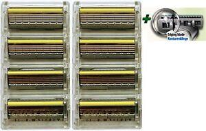 Wilkinson Sword Quattro Titanium Razor Sensitive pack of 4, 6, 8, 12,16  Blades