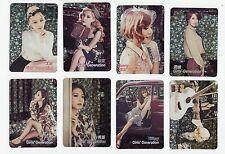 Korea K-POP KPOP Girls' Generation TAEYEON Tiffany HYOYEON Yoona YURI 8 card 145