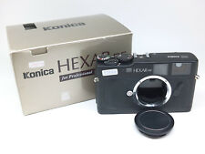 【Exc+++】 Konica Hexar RF 35mm Rangefinder Film Camera In Black